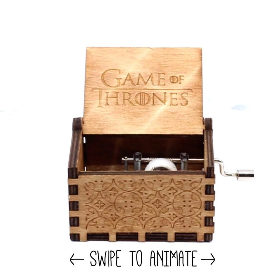 Game of Thrones Season 8 Theme Song - Emily Clarke, Sophie Turner, Kit Harington Music Box Chest