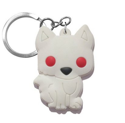 Game Of Thrones Figure Keychain - Ghost