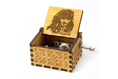 Pirates Of The Caribbean Jack Sparrow - Theme Song - Music Chest