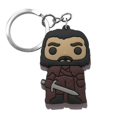 Game Of Thrones Figure Keychain - Jon Snow