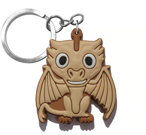 Game Of Thrones Figure Keychain - Viserion