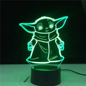 Star Wars - Baby Yoda night light