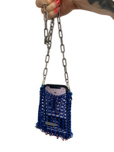 Load image into Gallery viewer, metal chainmail clutch purse iphone