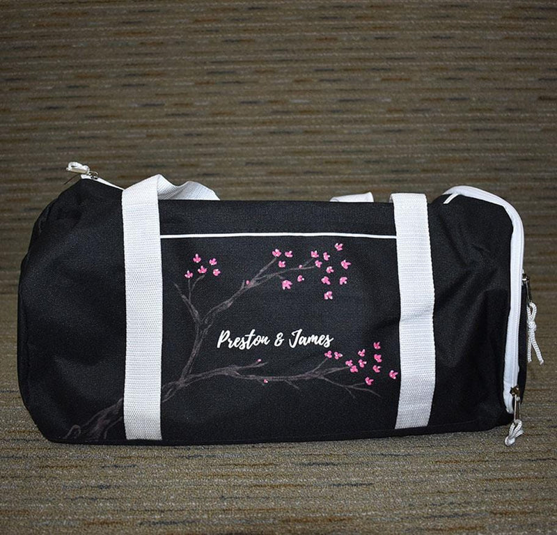Cherry Blossom Duffle/Travel Bag Set