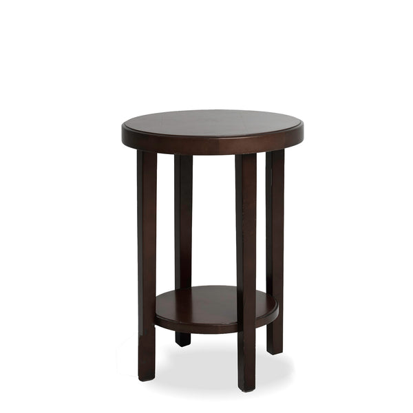 NEW: 2 Tier Mahogany Side Table