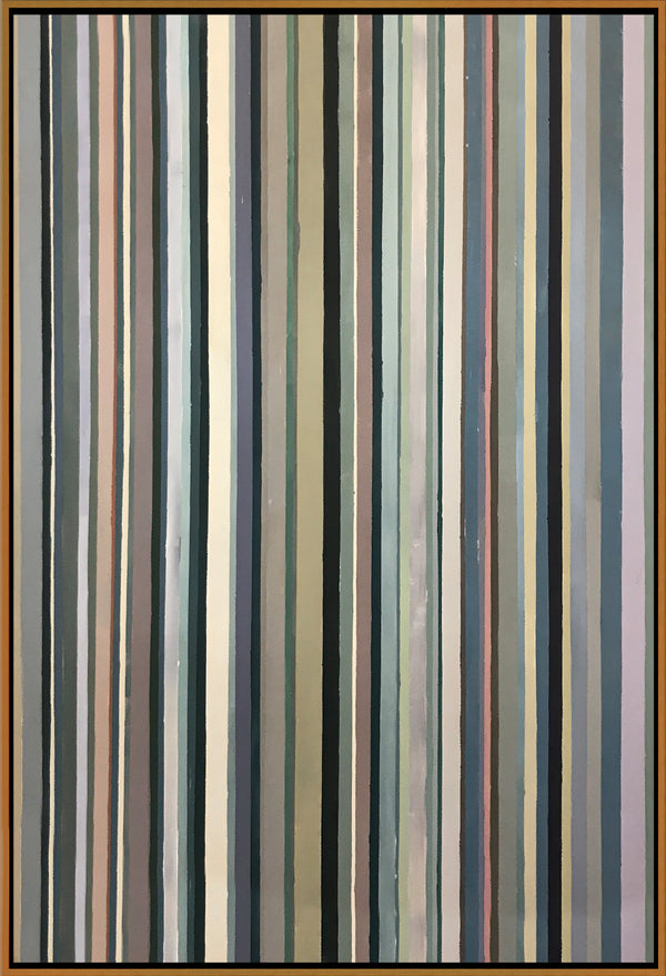 Rainbow Stripes, Cool Tones