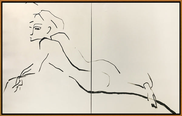 Reclining Nude Diptych
