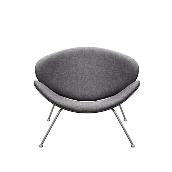 Nutshell Upholstered chair- Charcoal