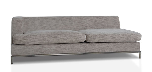 California LAF Sofa, Heather Grey