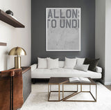 Allons in Grey