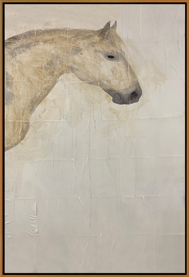 White Horse Triptych 2