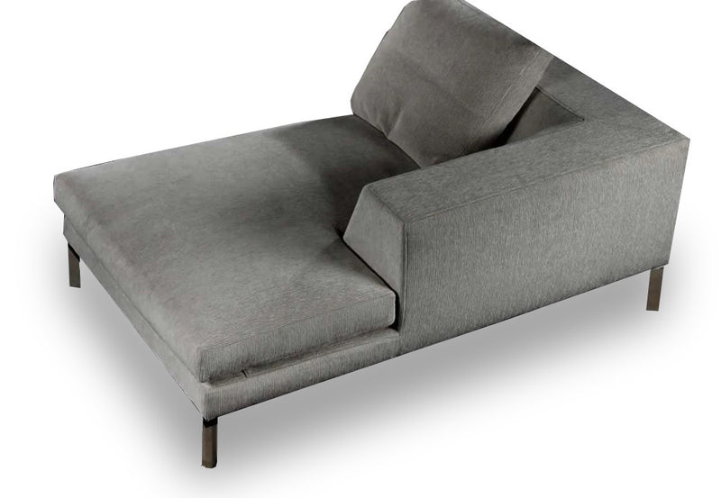 Orion Chaise Lounge- Grey