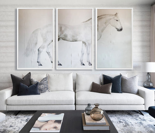 White Horse Triptych 1
