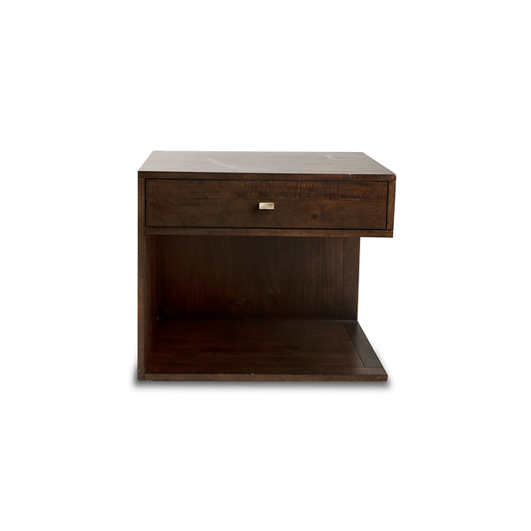 NEW: Hayden Left Facing- Acacia nightstand
