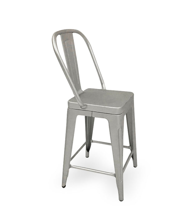 Aluminum Counter Stools (set of 4)