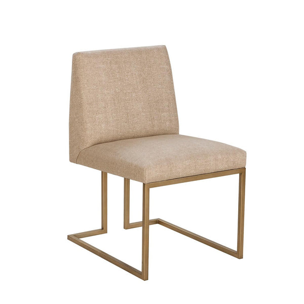 Ashton side chair beige