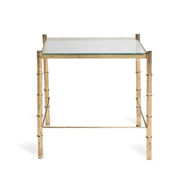 NEW: Bamboo side table