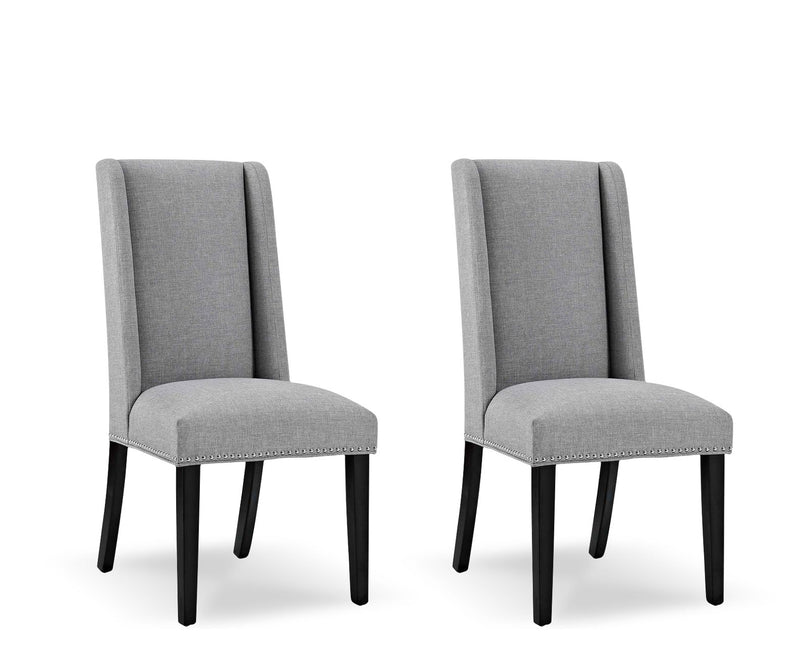 Baron Row Light Grey Chairs (set of 2)