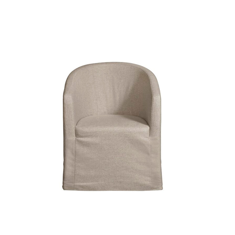 Dax Barrel chair- Beige Linen