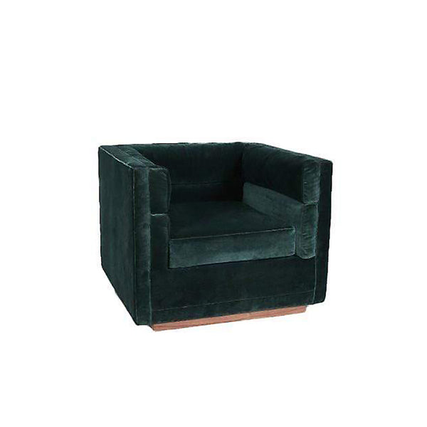 Berlin Velvet Lounge Chair