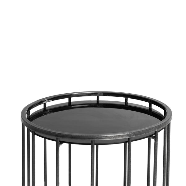 NEW: Caged Round- Black