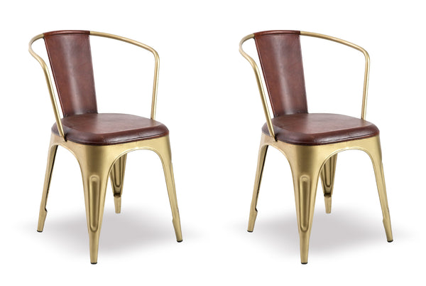Cigar Bar Chairs (set of 2)