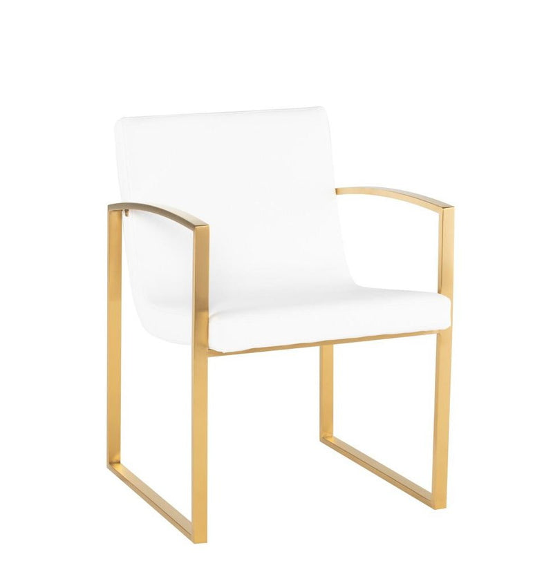 Clara dining chair white