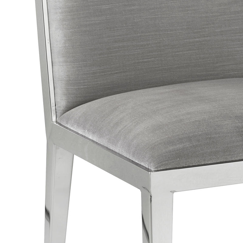 Emario dining chair steel frame