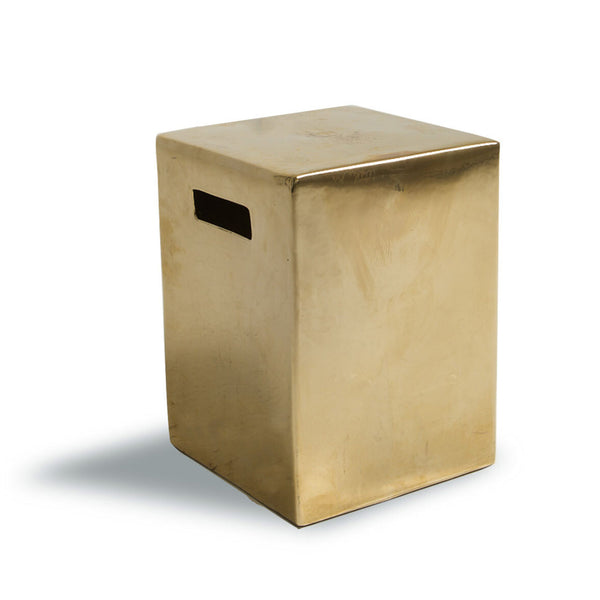 NEW: Side table Ceramic- Gold