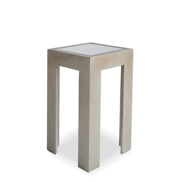 Grey Mirrored Drink Table
