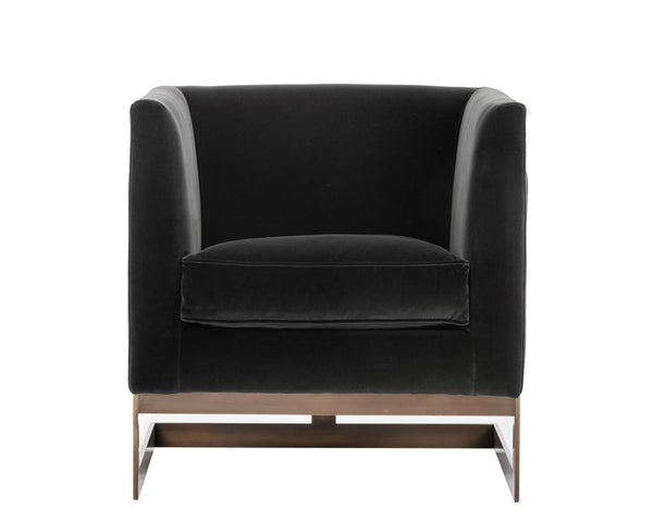 Soho Arm lounge chair- Giotto Shale Grey