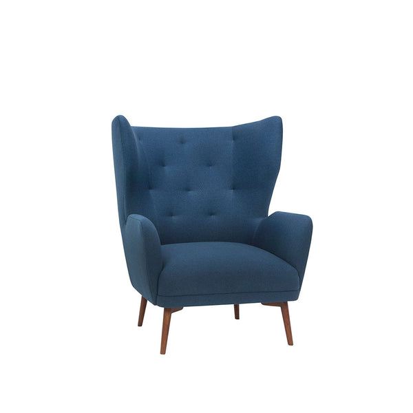 Klara Lounge Chair - Lagoon Blue