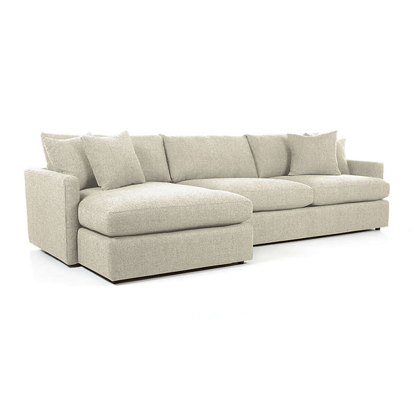 Lounge II 2-Piece Sectional Sofa with chaise