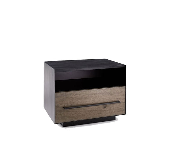 Massaro Metal Wrapped nightstand