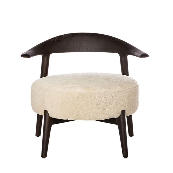 Matador Shearling Lounge Chair CB2