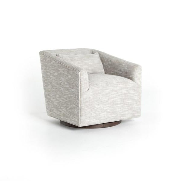 York Swivel Chair-Monterrey Pebble