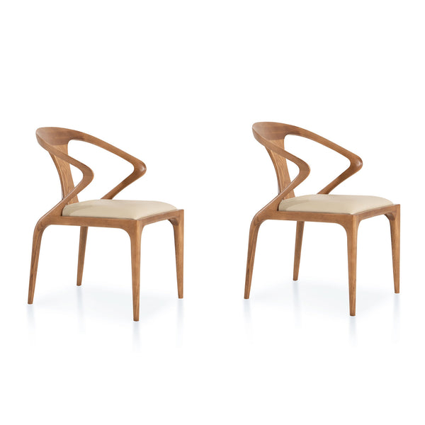 Mulkey chair- Natural (set of 2)