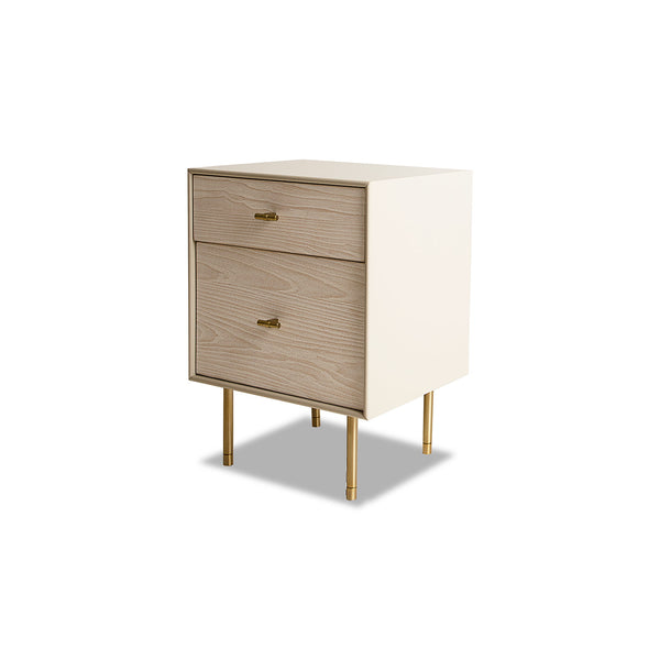 NEW: Modernist- Winter Wood nightstand