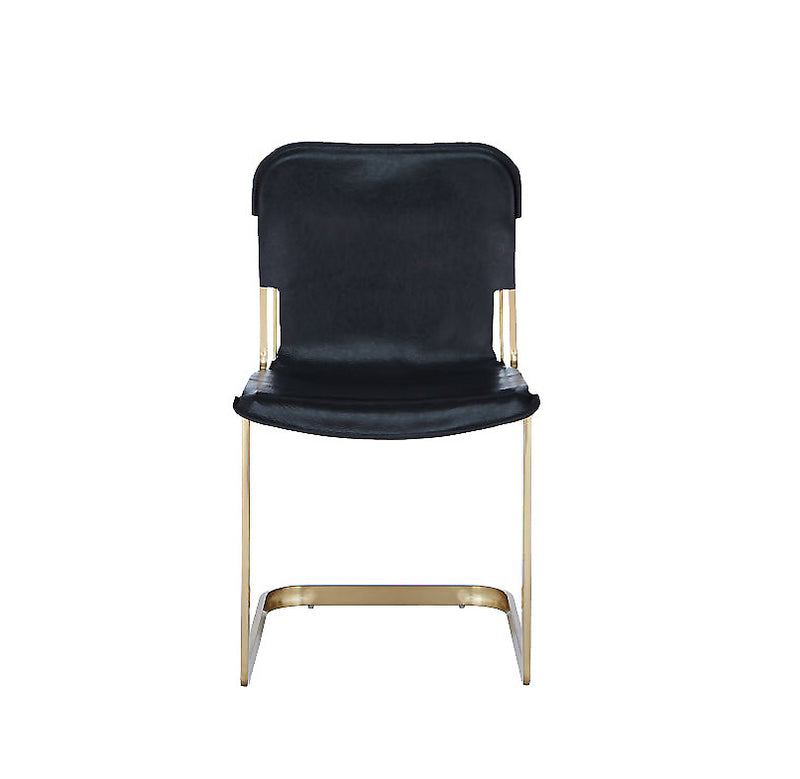 Rake Brass chair Kravitz
