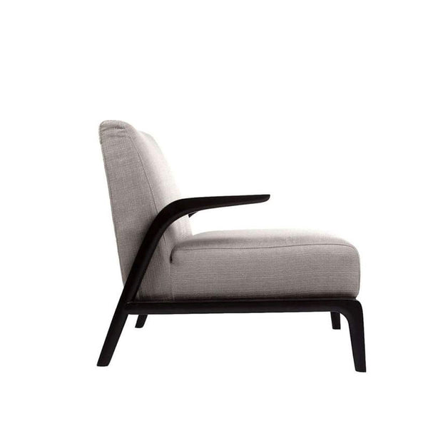 Rolf lounge chair- Grey/Black