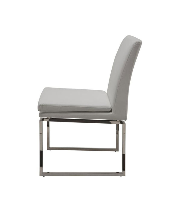Savine chair (R)- Light Grey Tweed