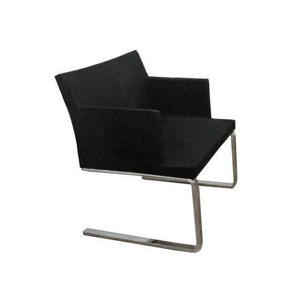 Soho dining chair black