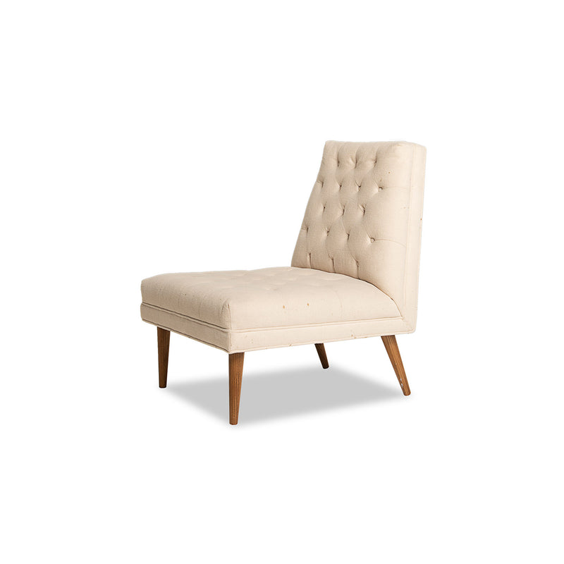 Armless Tufted Sorrento- Beige