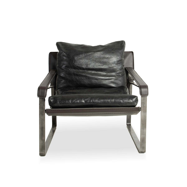 Stockholm lounge chair- Black