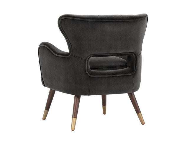 Hanna Club Chair Leo Shale Grey