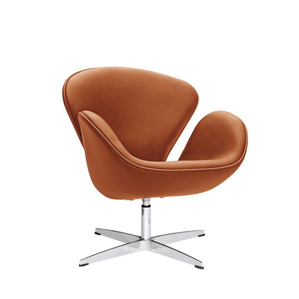 Swan chair- Cognac leather