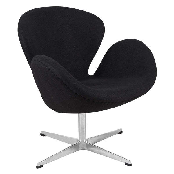 Swan chair- Black