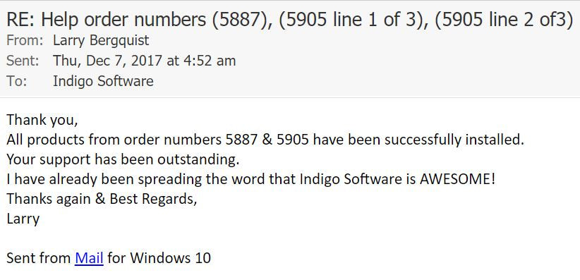 Indigo Software Reviews