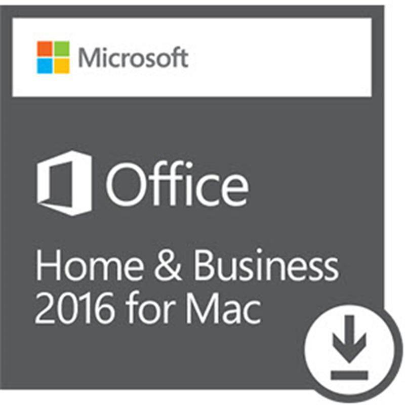 FOR MAC ONLY- Microsoft Office Home & Business 2016 for 1 Mac Download - Mac Office 2016