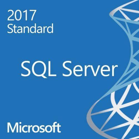 Microsoft SQL Server 2017 Standard - Unlimited Cores, 50 User CAL - 64 Bit Comp